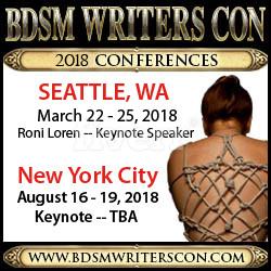 BDSM Writers Con, Charley Ferrer, kink, fetishes, bondage, romance